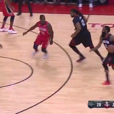 James Harden posted 26 PTS and tied a career high 17 AST in the @HoustonRockets win! https://t.co/X6nDZEYY8I