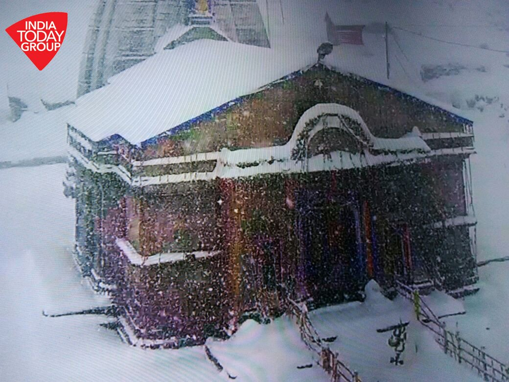 IndiaToday snowing