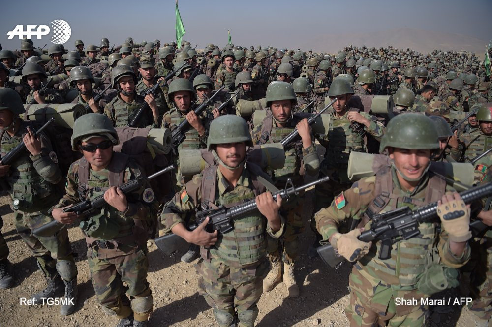 Las fuerzas afganas preparan una gran ofensiva contra el grupo EI en el norte