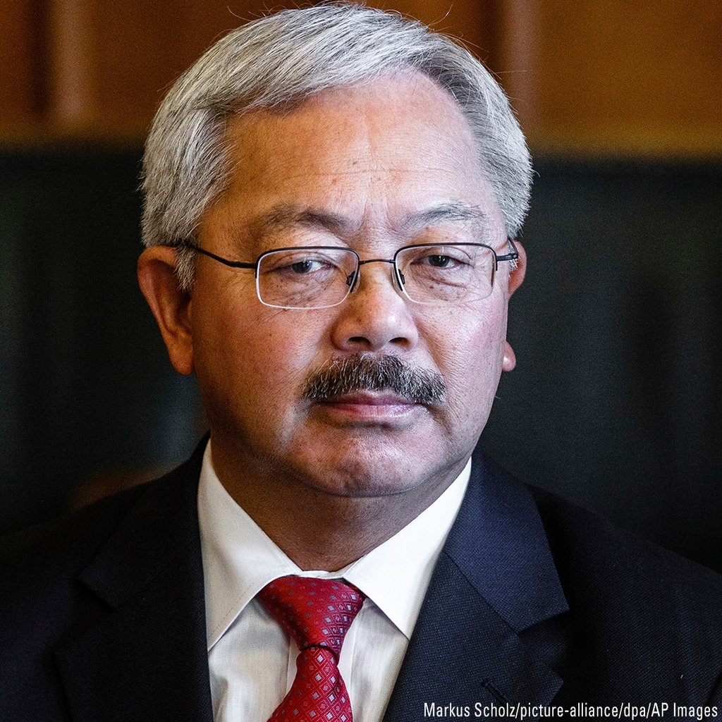 BREAKING  San Francisco Mayor  san francisco mayor ed lee