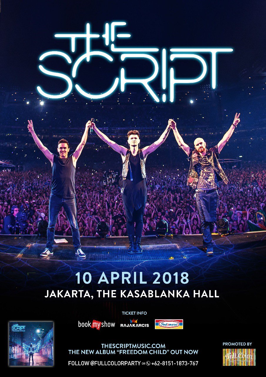 Indonesia! We'll be playing at The Kasablanka Hall in Jakarta next April!! Tickets go on sale this Friday at 11am! https://t.co/u9G1XldfBj