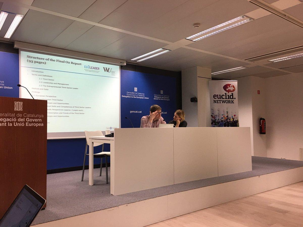 provar Twitter Mitjans - .@EuclidNetwork a la Delegació Catalana de Brussel·les amb el projecte #EU3leaders https://t.co/ePTnm1FHZQ