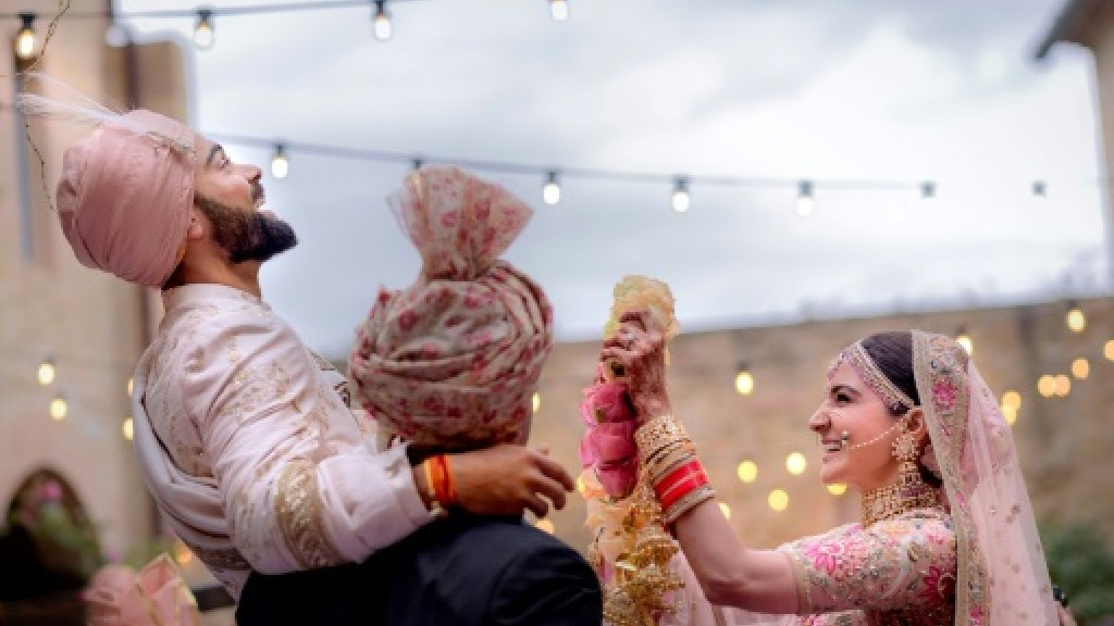 India celebrates Kohli-Sharma 'royal' wedding