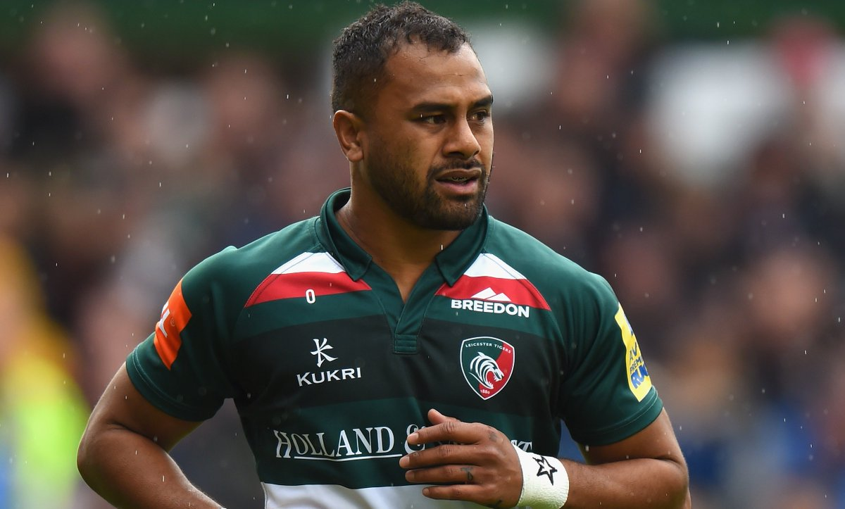 test Twitter Media - Leicester Tigers full-back Telusa Veainu is set to be out for at least eight weeks after sustaining a double fracture of his jaw.  ➡️ https://t.co/lFaNOV1E0g  #bbcrugby https://t.co/FEs0urngMS