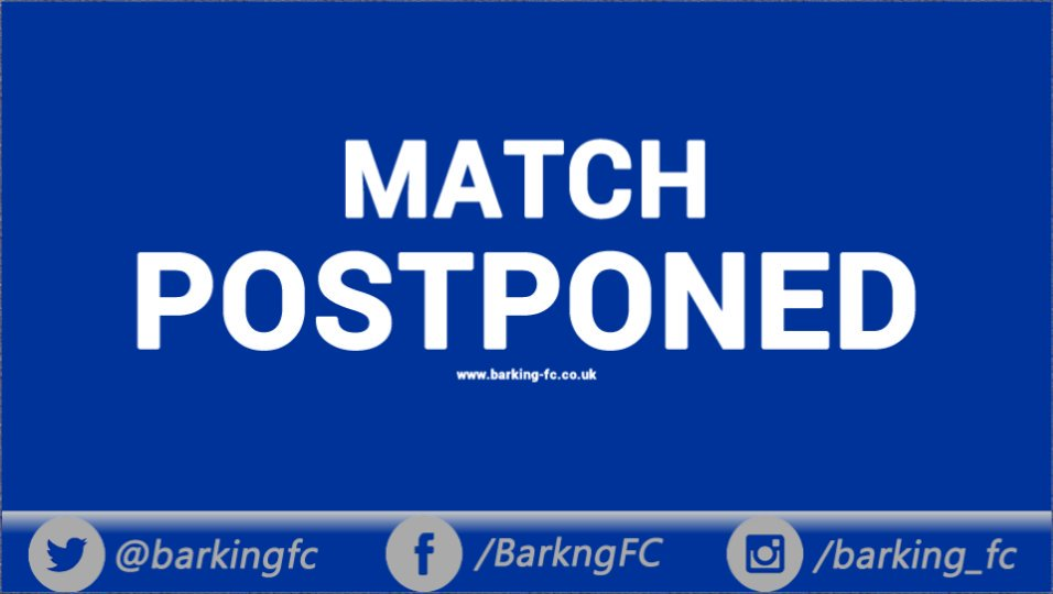 test Twitter Media - Tonight's game with AFC Hornchurch has been postponed. New date TBC https://t.co/zmpfHjVj5R