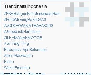 Trend Alert: #KeepMovingRezaDAA3. More trends at https://t.co/OMCuQPRWwL #trndnl https://t.co/hirVAq0qoh