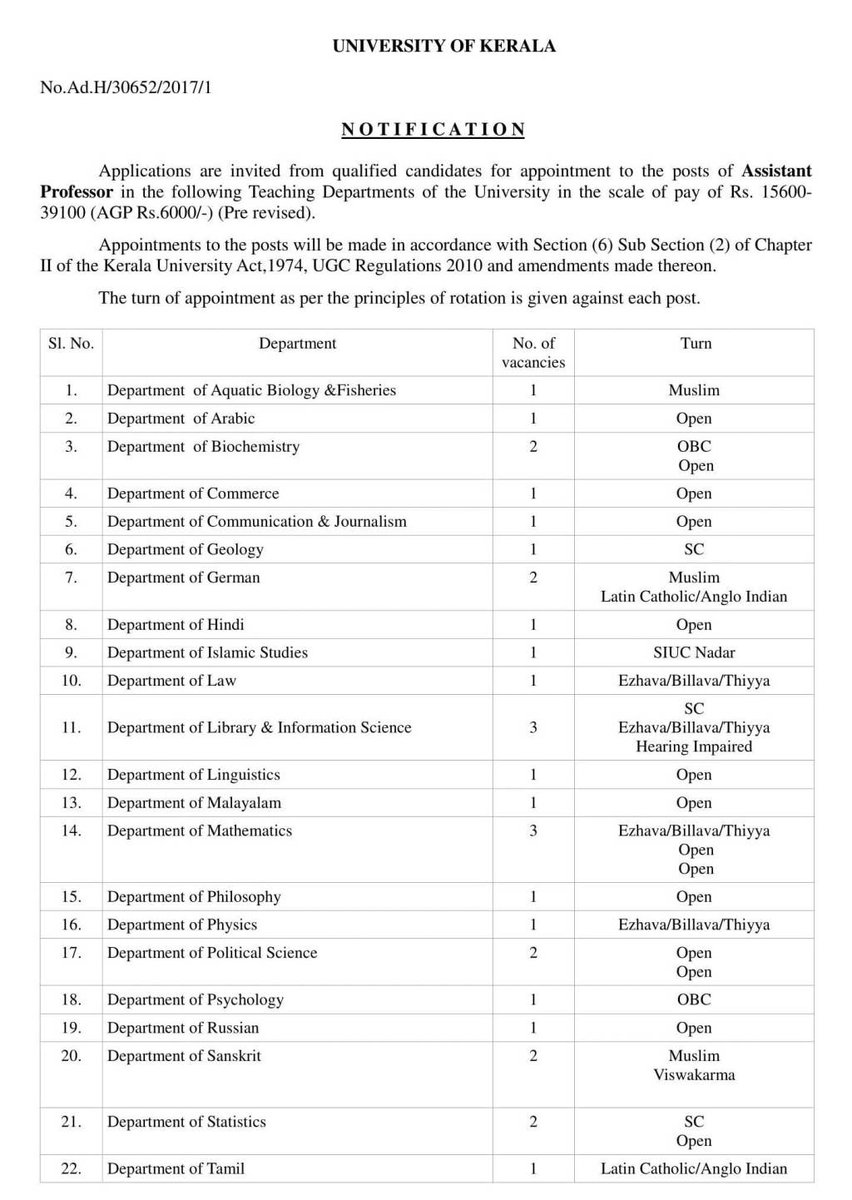 test Twitter Media - Recruitment for Various Teaching Posts (Including Library & Information Science) at… https://t.co/hfEIvmsJ4i https://t.co/ikdhAKbw8G