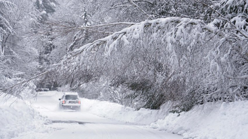 Mix of snow and rain in store for northern New England