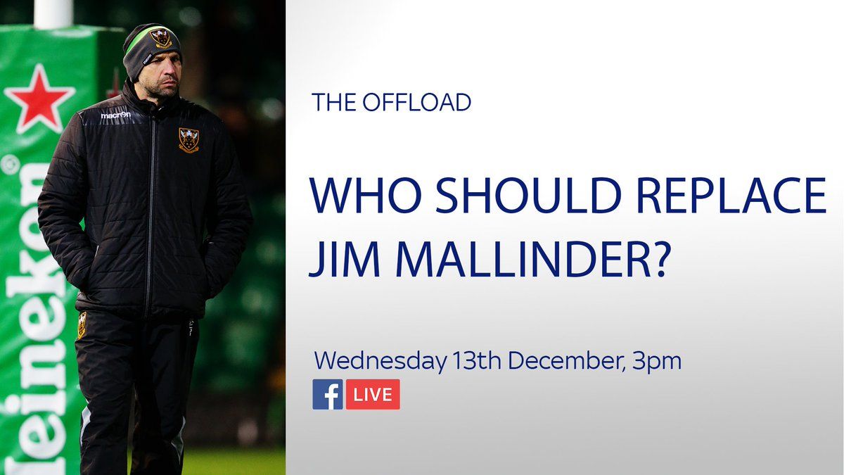 test Twitter Media - Join us for #TheOffload tomorrow where @WillGreenwood & @RupertCoxSKY discuss who should replace Jim Mallinder at Northampton. VOTE HERE: https://t.co/wT49pD9lLl https://t.co/p9AGPvpvOv