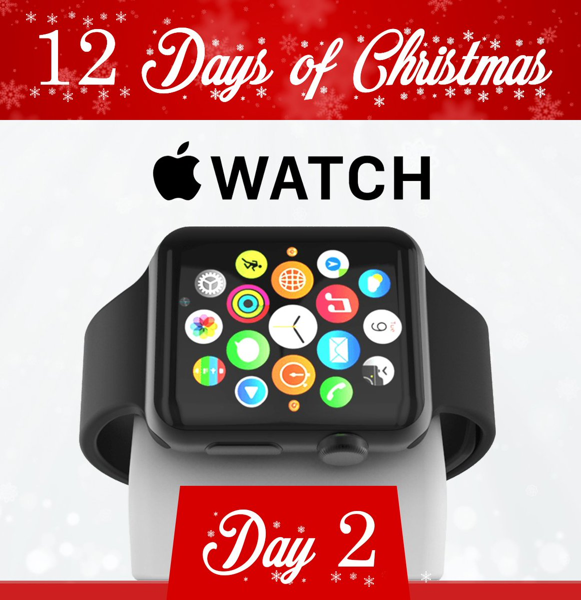 test Twitter Media - 🎁 Day 2 of our #12DaysofChristmas Giveaways at #EndrasBMW! Each vehicle purchase today will receive a FREE Apple Watch! 🎄 https://t.co/d6iqCZoOrs