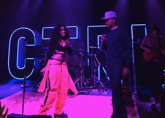 watch SZA bring out Chance the Rapper for 'Child's Play' at Irving Plaza https://t.co/rBkCQJwP17 https://t.co/MI1Bfvaz2v