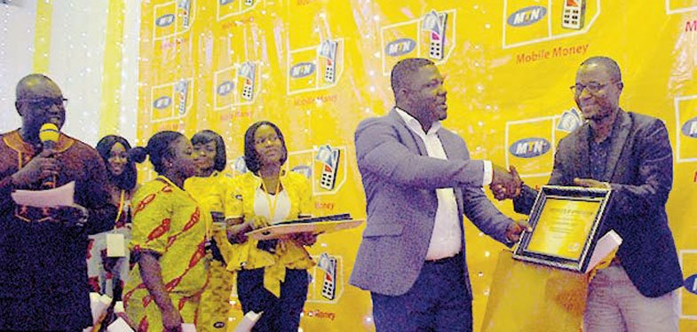 MTN Awards Mobile Money Agents
