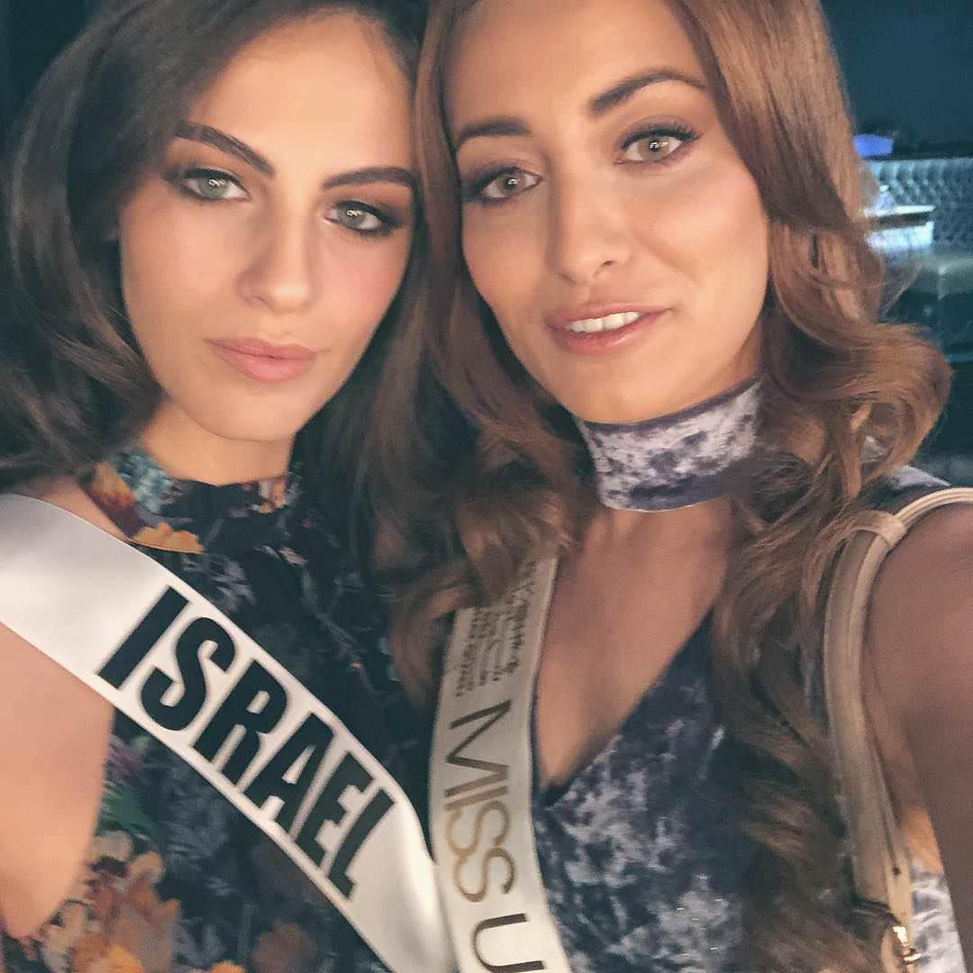 Miss Universe Israel and Miss Universe Iraq took a picture together and called for peace between Jews and Muslims https://t.co/5kvEn9JrSk