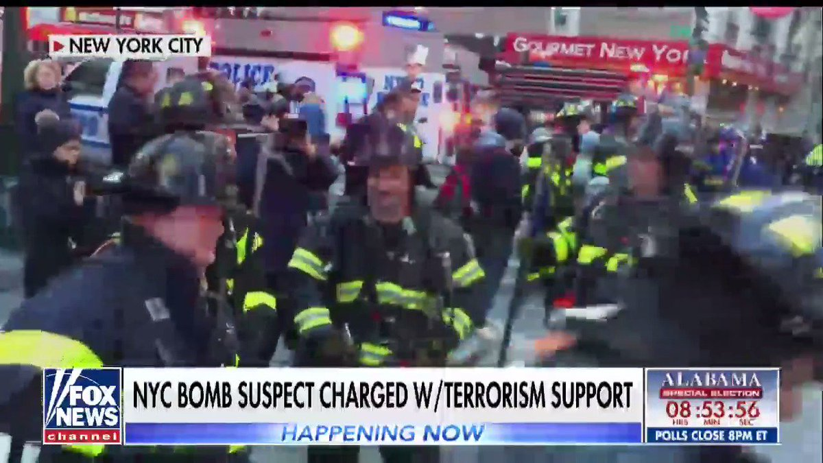 Port Authority bombing suspect wrote on Facebook: 'Trump you failed to protect your nation'