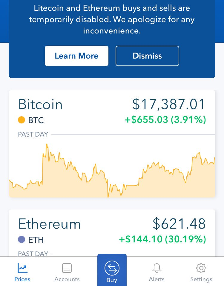 Coinbase's cryptocurrency exch coinbase
