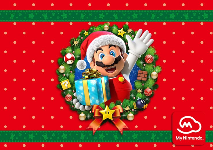 Celebrate the holidays with #MyNintendo and redeem your points for discounts on Mario games! https://t.co/jriI1vPRly https://t.co/3eNfUHRq8L