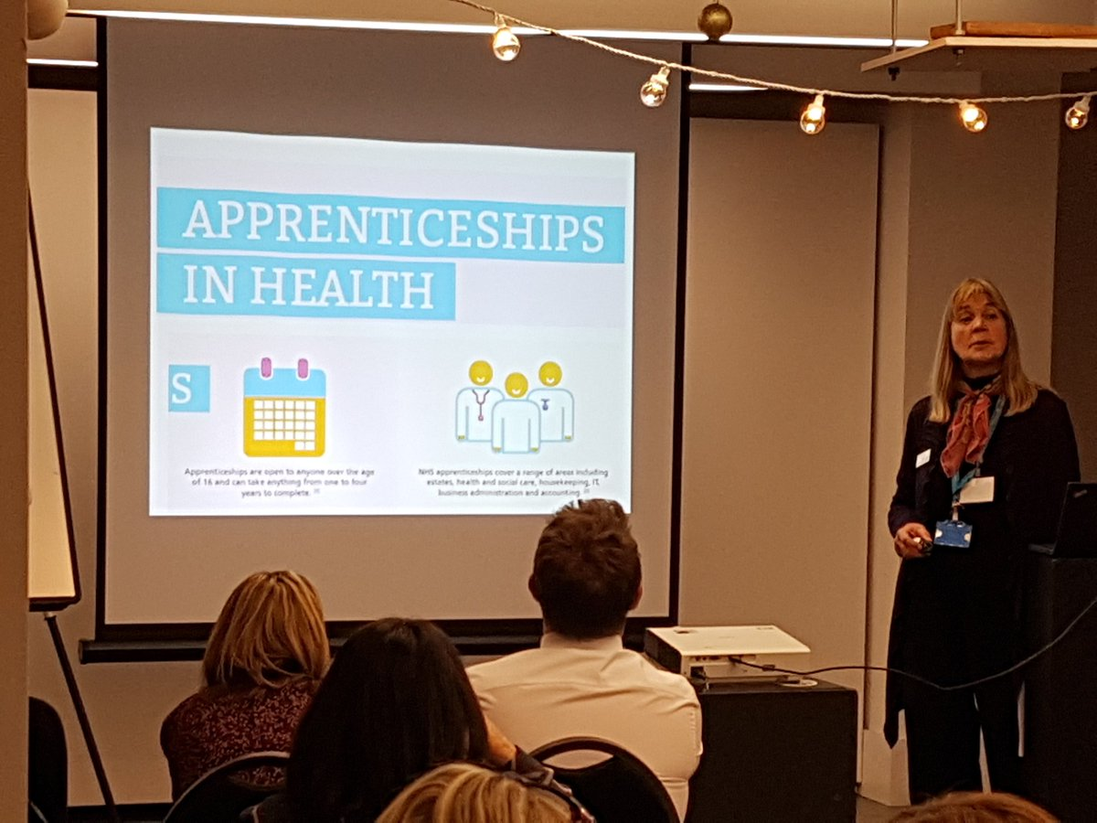 test Twitter Media - Alison talking about @HealthCareersUK, lots of opportunities including higher degree apprenticeships. Thank you for presenting at our CPD extravaganza!  #startyourjourney #degreeapprenticeships https://t.co/VqP3QOm90b