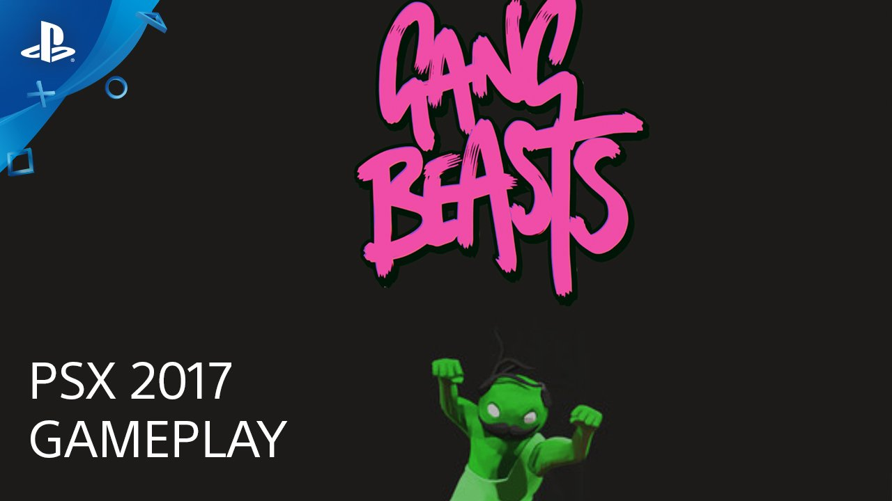 Gang Beasts hits PS4 December 12 (finally!), and we embraced the mayhem in a #PSX live demo. https://t.co/ZkJ6f93EwT https://t.co/eghFkKwQ2Q