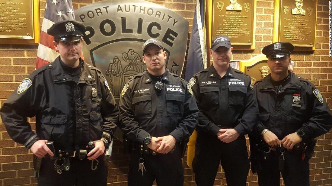 These officers took down the New York pipe bomb suspect