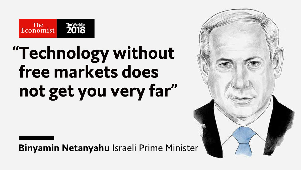 Economic dynamism can help make friends as well as fortunes argues @netanyahu