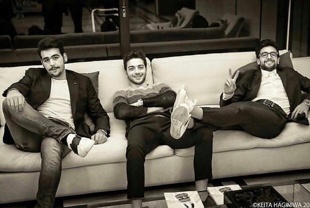 RT @ilvolo: Bad boyzzz  #ilvolo #ilvolomusic #ilvolofamily #tourlife #12Dic #Dec12 https://t.co/6lR5g1jiBV