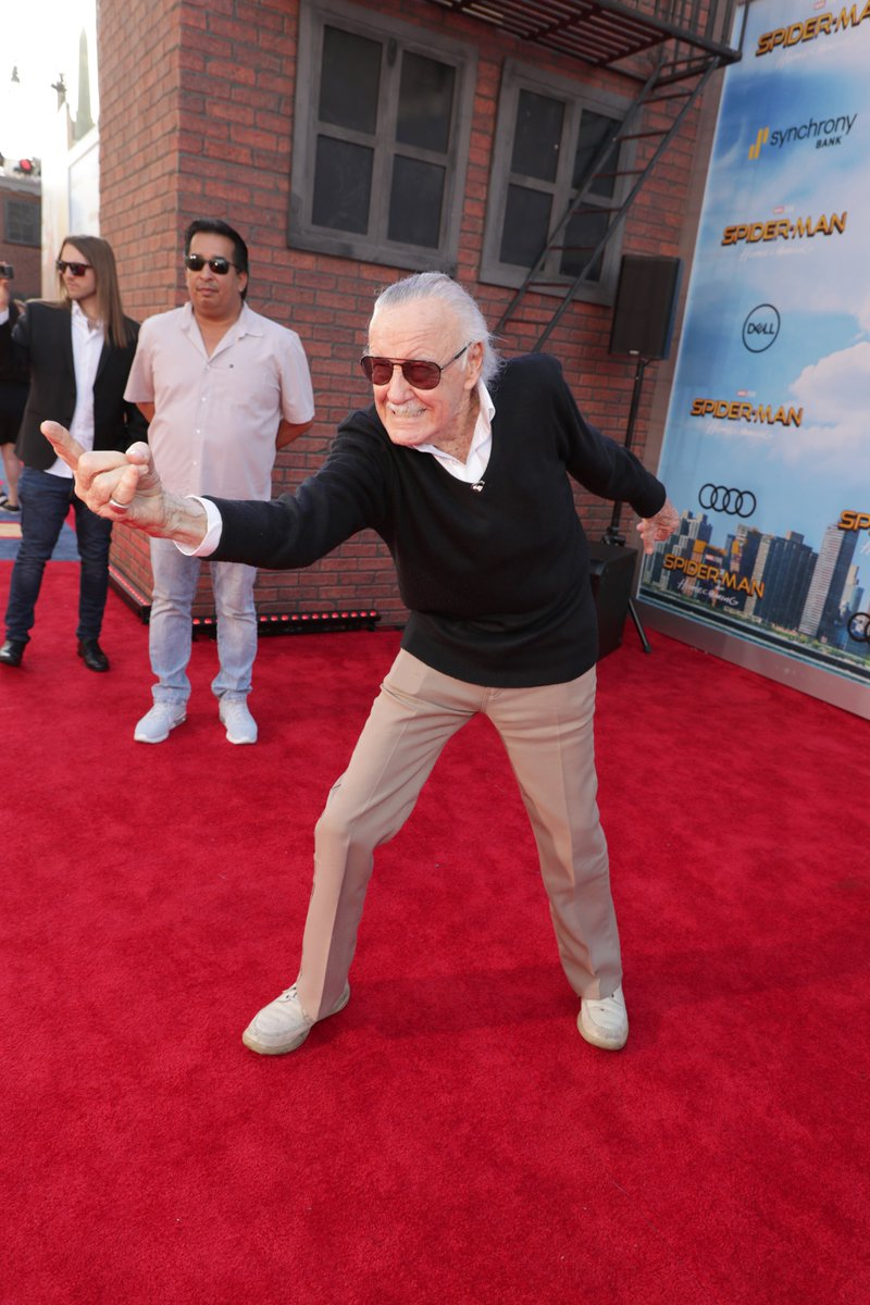 Happy Birthday to our super hero Stan Lee! https://t.co/yyJD9iS0T0