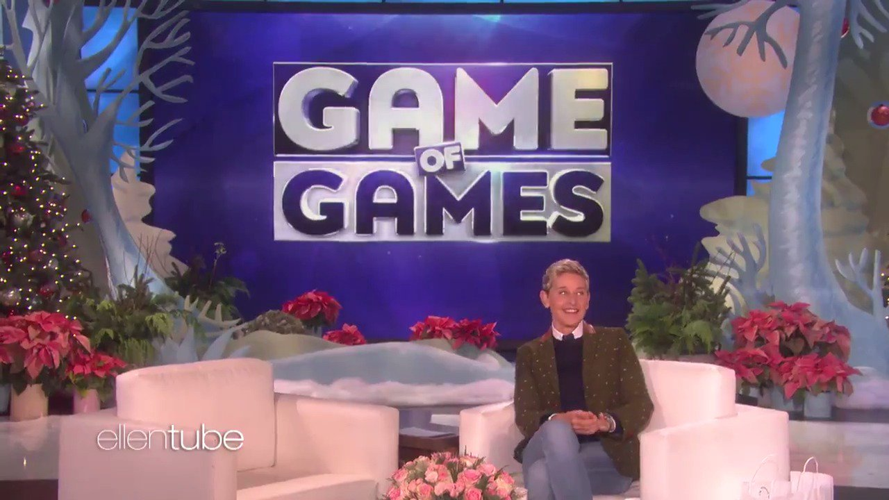 My new game show #GameofGames is about to launch, and so are my contestants. https://t.co/2Q8NHCdT7f