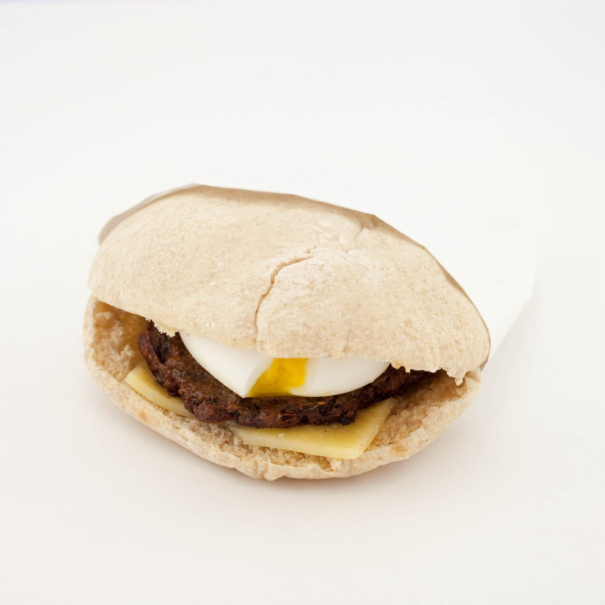 Clover is now selling a meatless sausage breakfast sandwich