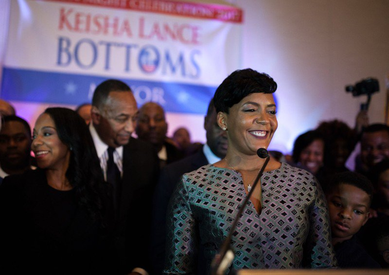 Image result for Mayor Keisha Lance Bottoms transition team