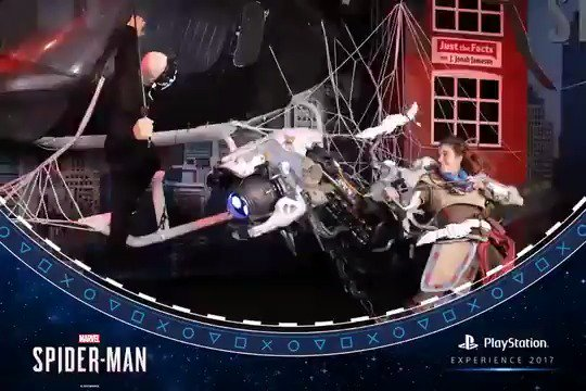 Peter got some backup at the Marvel's Spider-Man booth at #PSX this past weekend. https://t.co/B7CsRm5YX6