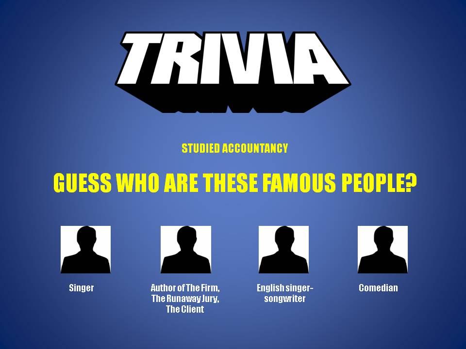 #Trivia