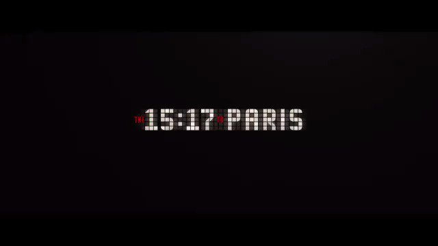Watch the trailer for Clint Eastwood's new movie '15:17 to Paris' https://t.co/keyvsYCX3r