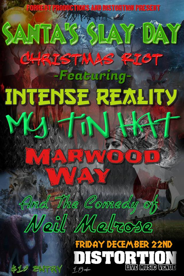 test Twitter Media - Just announced! Dec 23 Santa's Slay Day Christmas Riot: Music and Comedy Night! With @MarwoodWay @intenserealityy, My Tin Hat, and the comedy of @MetalMelrose! https://t.co/91nZwhTHcy #yyc #yyclivemusic #yyccomedy #yycmusic #musicyyc #comedyyyc #Calgary https://t.co/QPd8CNKdzC