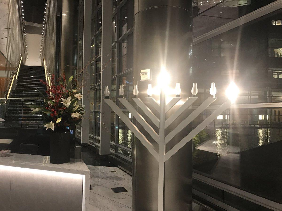 Happy Hanukkah from D.C. to all! Chag Sameach! https://t.co/iOxJqpxC7B