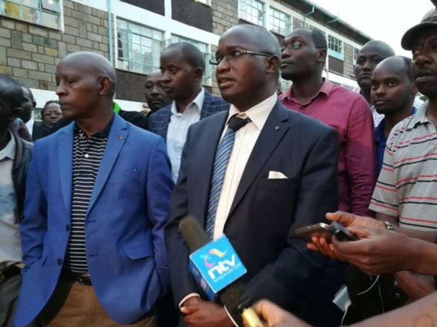 Nyeri MCA Peter Weru is dead