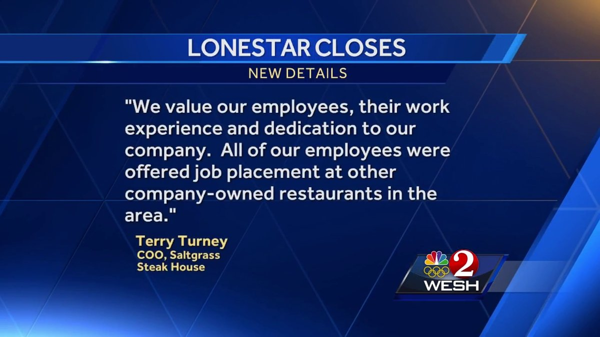 Orlando restaurant closes, affecting more than 30 employees