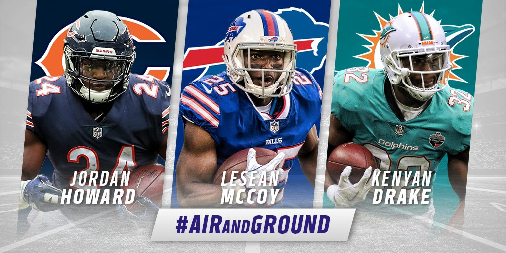 Vote for the @FedEx Ground Player of the Week!  Tweet player's name + #AirAndGround: Howard. McCoy. Drake. https://t.co/tbApQQAbJd