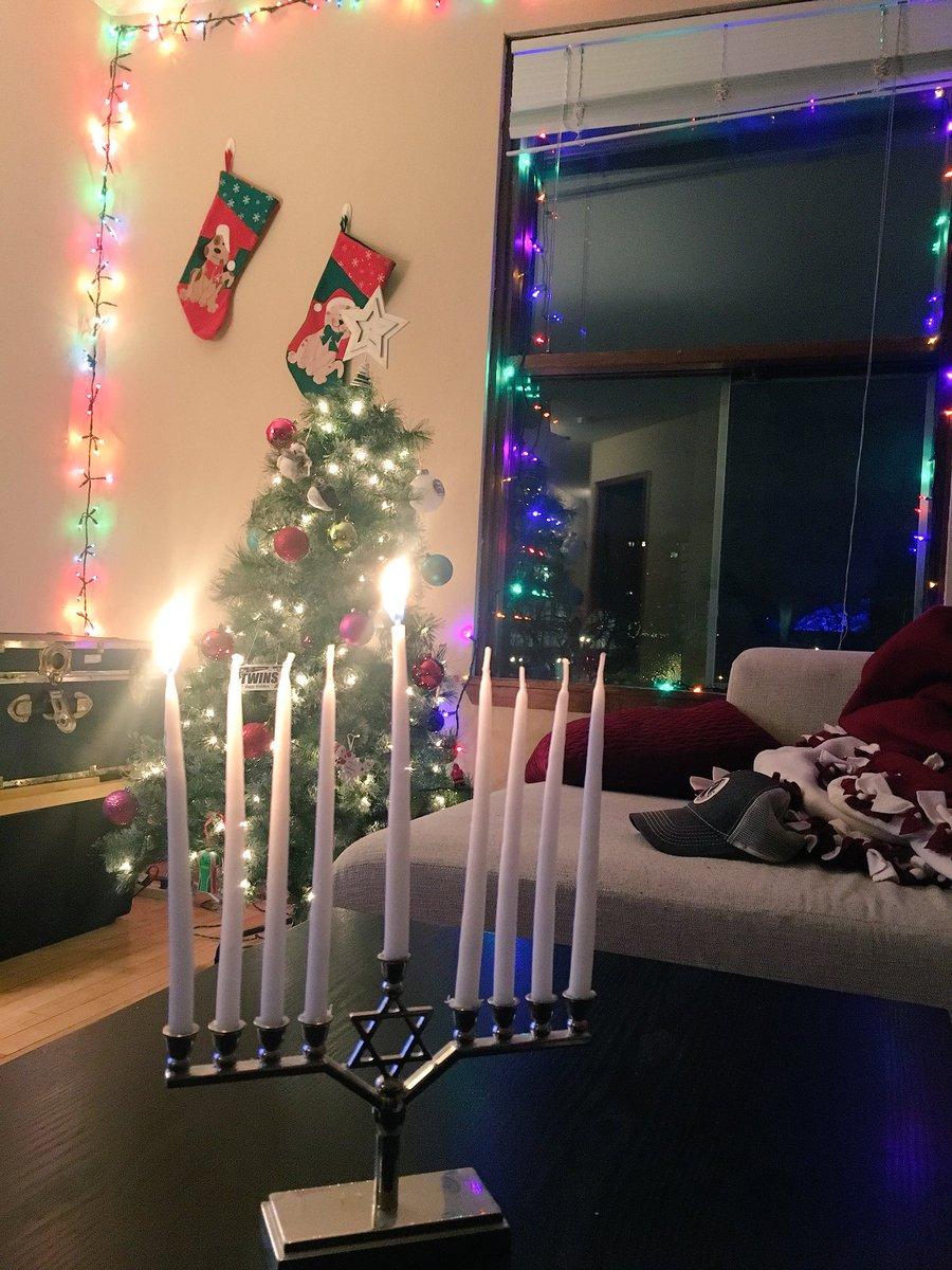 Happy #Hanukkah from a multi-cultured house hold! https://t.co/gu8mx2rxsX