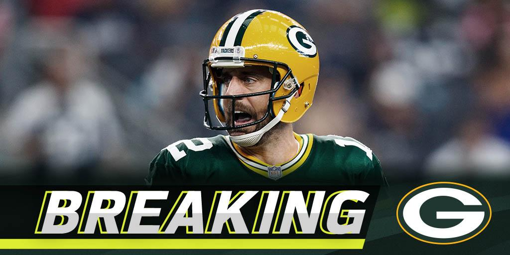 Rodgers cleared to return, will start Sunday: https://t.co/crdsl6uU1N https://t.co/HyYUsYekPX