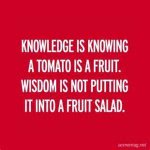 Knowledge is power #WednesdayWisdom #tomatoes 👍