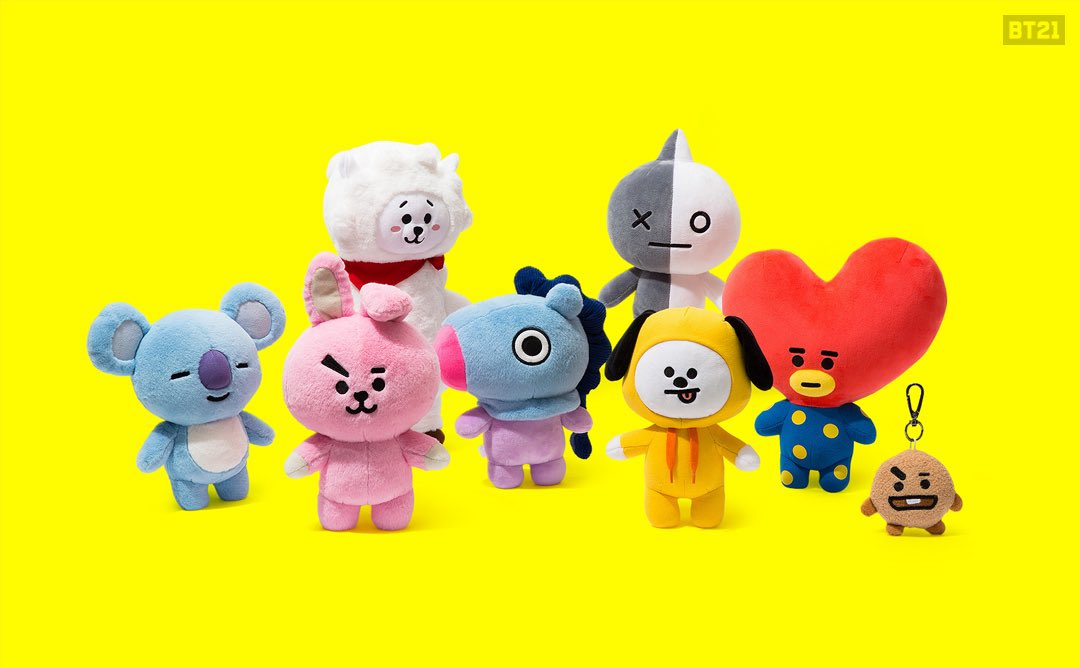 BT21 Standing Dolls & Bag Charms NYC - Coming Soon SEOUL - DEC 16 https://t.co/1XfGxZ0Uuw https://t.co/aQtkKwM0Iz