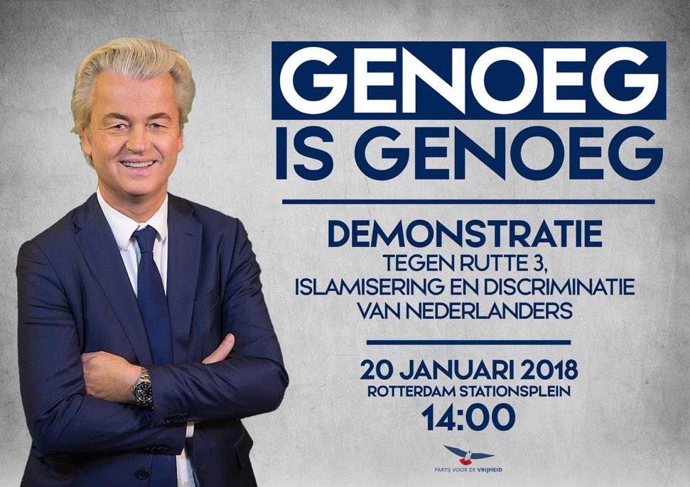 test Twitter Media - Betoog za 20/01/2018 samen met @geertwilderspvv tegen de islamisering v/ #Europa in Rotterdam! Ik zal er zijn! U ook? Info busvervoer fdw.nu https://t.co/JBPN4njW6R