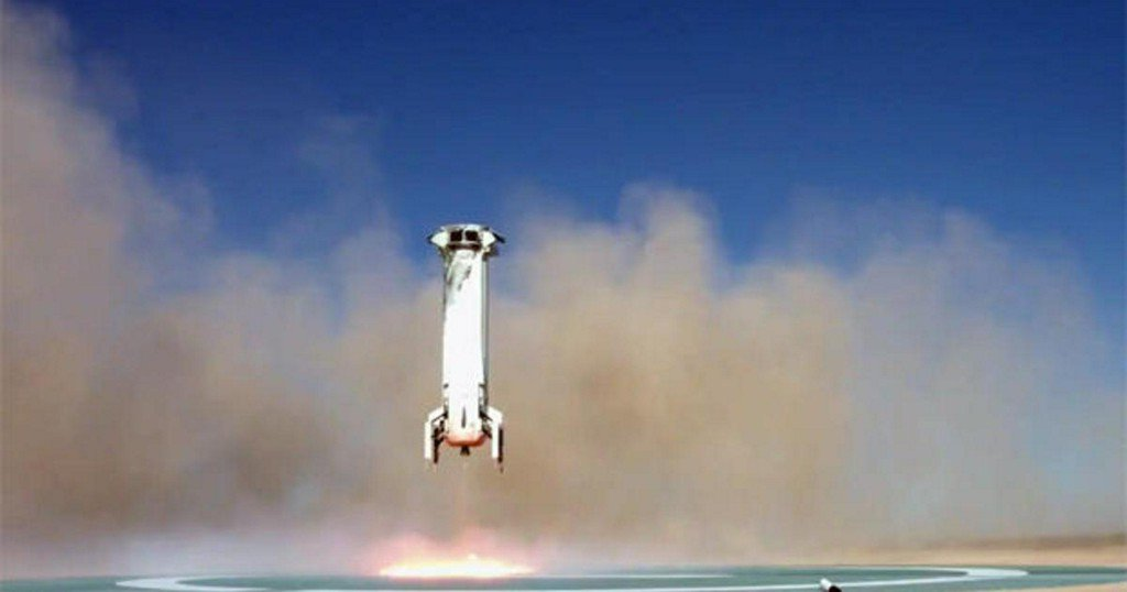 Test flight by Jeff Bezos-owned Blue Origin puts company big step closer to offering space tourism