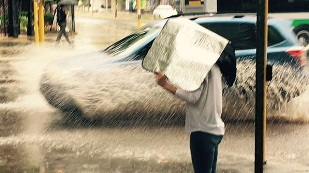 Summer on hold: 'Winter' storm to batter Perth with heavy rain