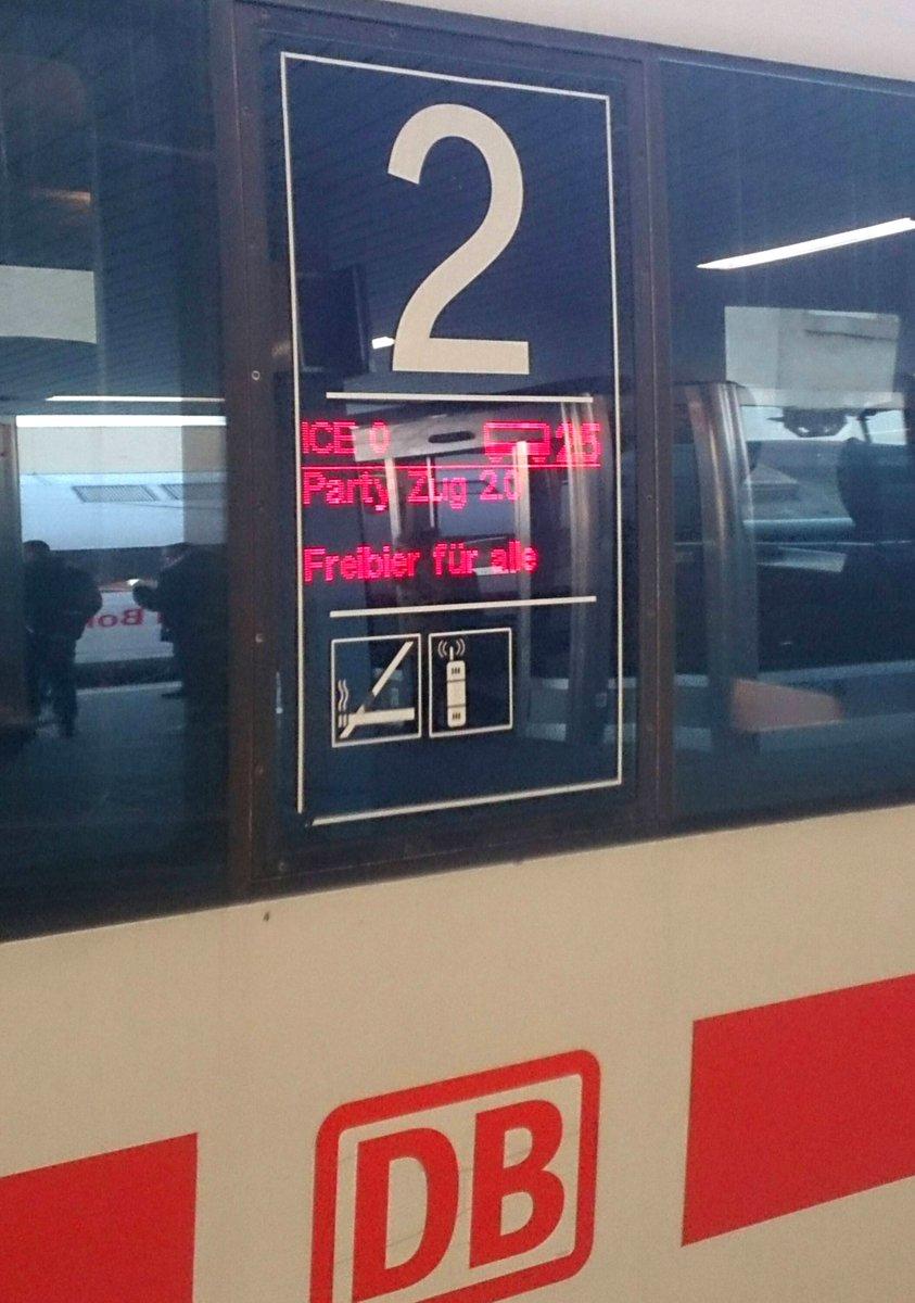 #Bahn