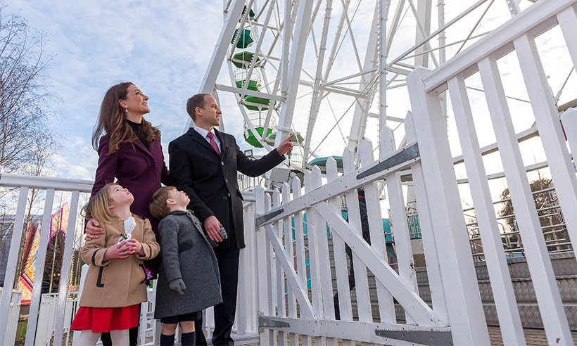 Take a look at the Cambridges' fantasy Christmas trip to Dreamland!
