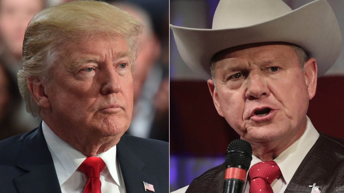 """Trump on the Alabama election: """"I was right! ... the deck was stacked"""" against Roy Moore"""