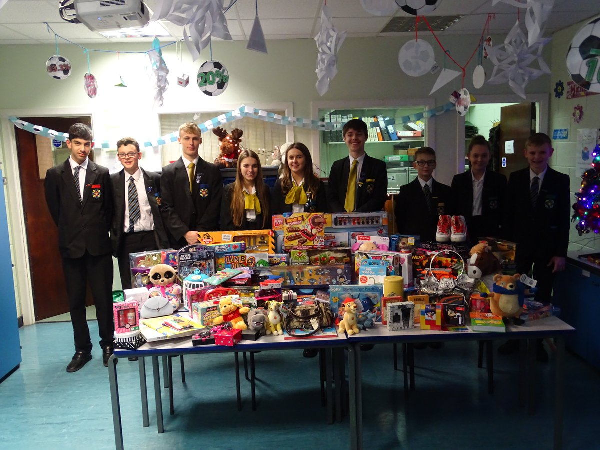 test Twitter Media - Thanks and well done to all who donated to the Key 103 Cash for Kids toy appeal.  94 presents donated!  #castlebrookhighschoolkey103missionchristmasappeal https://t.co/Jc7vR1IMZY