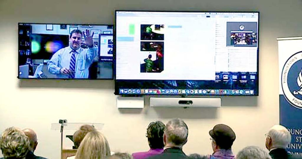 test Twitter Media - How a generous donation will help @youngstownstate students reach remote experts with #videoconferencing. https://t.co/JGBQqaPcOe #ciscospark https://t.co/9WBcGGbX0L