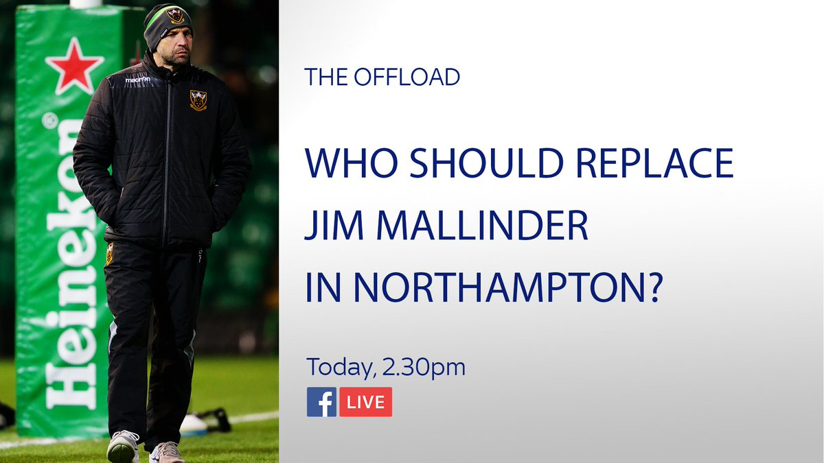 test Twitter Media - Are English clubs on a decline? Who should replace Jim Mallinder? This and more on #TheOffload. Join @WillGreenwood & @RupertCoxSKY on #FBLive from 2.30pm today - https://t.co/xTSLMbt8Ce https://t.co/Udsr3K2Tfk